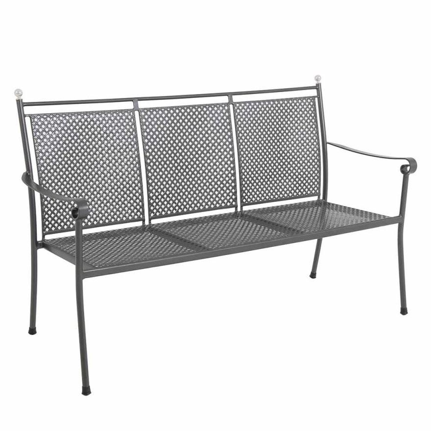 Royal Garden Excelsior 3Sitzerbank 153Cm Metall  Gartenundfreizeit von Gartenbank 3 Sitzer Metall Bild