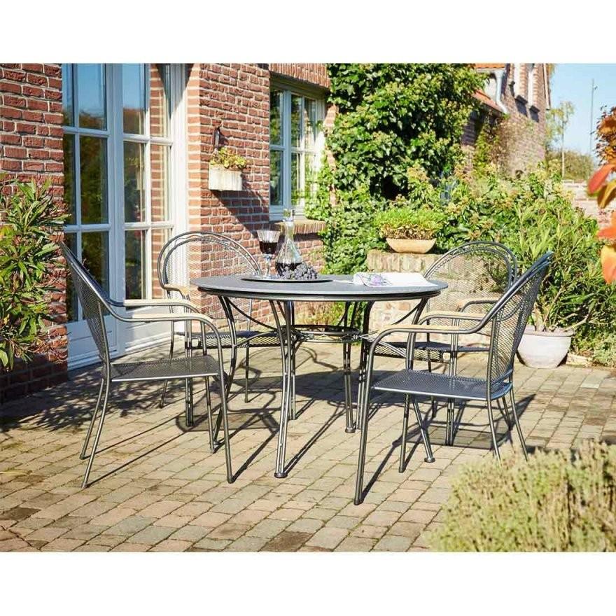 Royal Garden Talcy Diningset 5 Tlg Metall Garten  Freizeit Design von Royal Garden Gartenmöbel Werksverkauf Photo