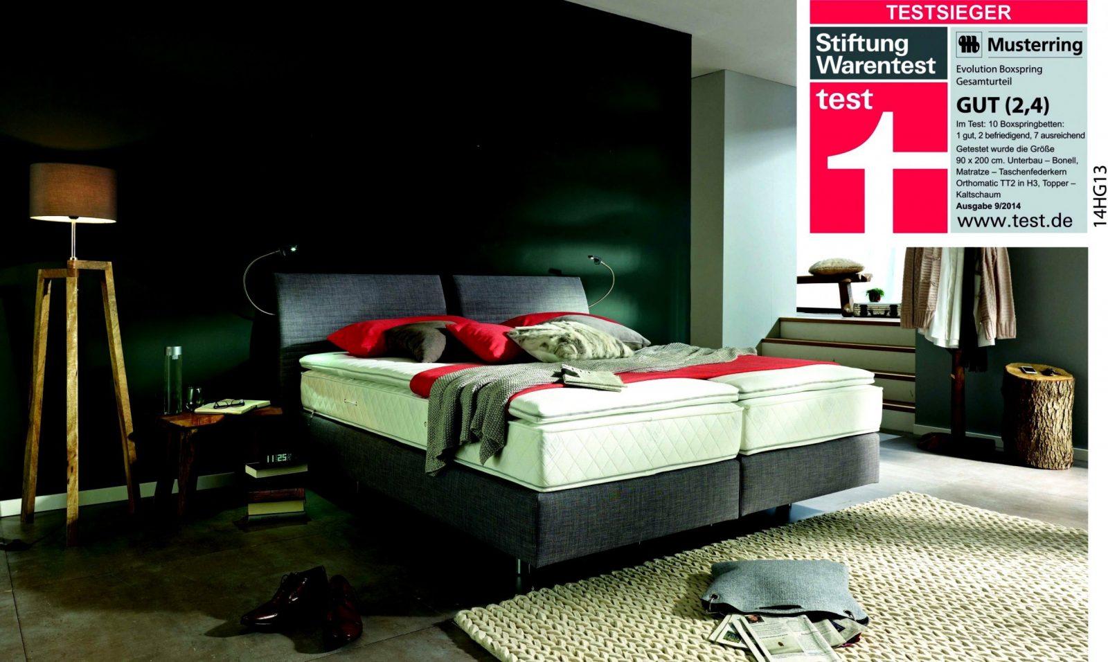 Ruf Betten Bewertung  Bett Kollektion von Ruf Boxspringbett Verena Test Photo