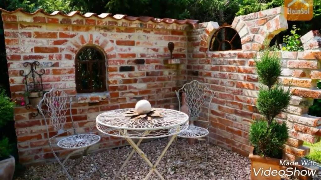 Ruinen Selber Bauen Die Schönsten Gestaltungs Ideen  Youtube von Steinmauern Im Garten Selber Bauen Photo