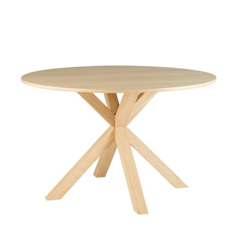 Runder Esstisch Für 6 Personen Aus Massiver Eiche D127 Mona von Runder Tisch Für 10 Personen Photo