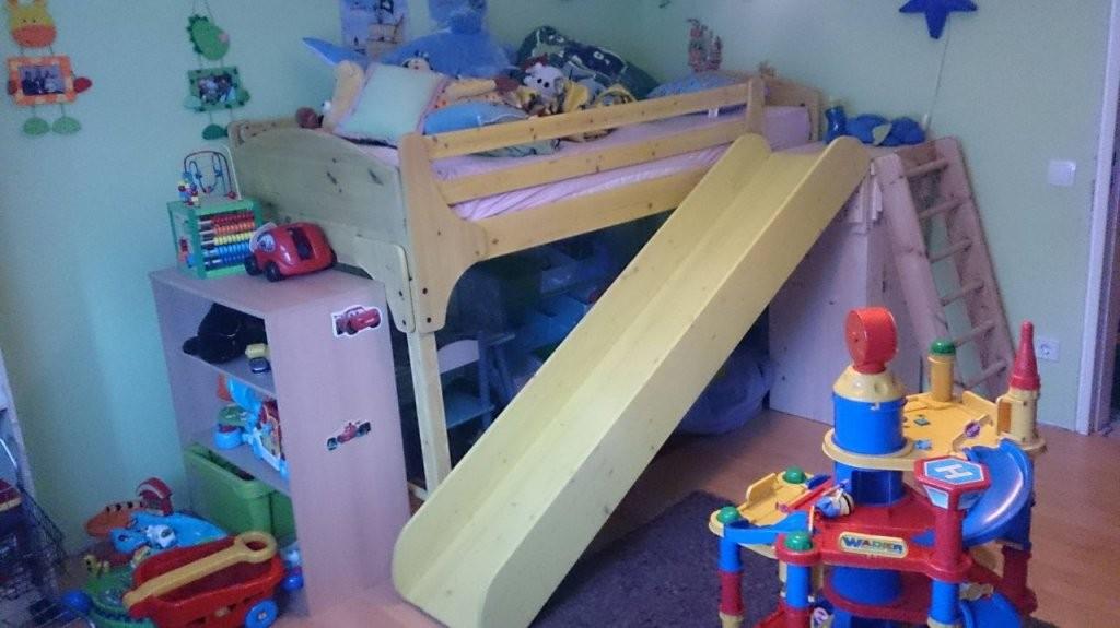 Rutsche Für Ein Hochbett  Bauanleitung Zum Selberbauen  12Do von Bett Rutsche Selber Bauen Photo