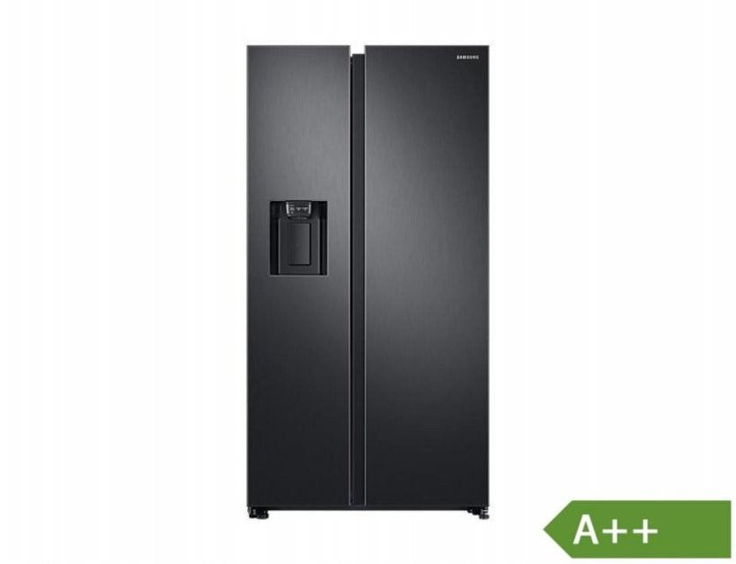 Samsung Rs6Gn8221B1Eg Rs8000 Sidebyside Black  Real von Side By Side Samsung Schwarz Photo