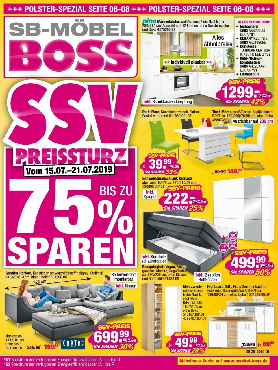 Sb Möbel Boss Prospekte In Güstrow  Angebote Mit Aktionen von Sb Möbel Boss Gera Bild