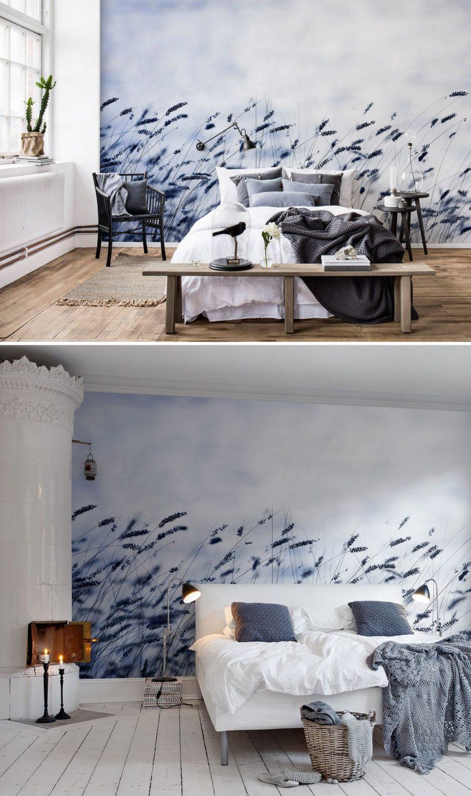 Scandinavian Light In 2019  Tapeten Für's Schlafzimmer von Wandgestaltung Mit Tapeten Wohnzimmer Bild