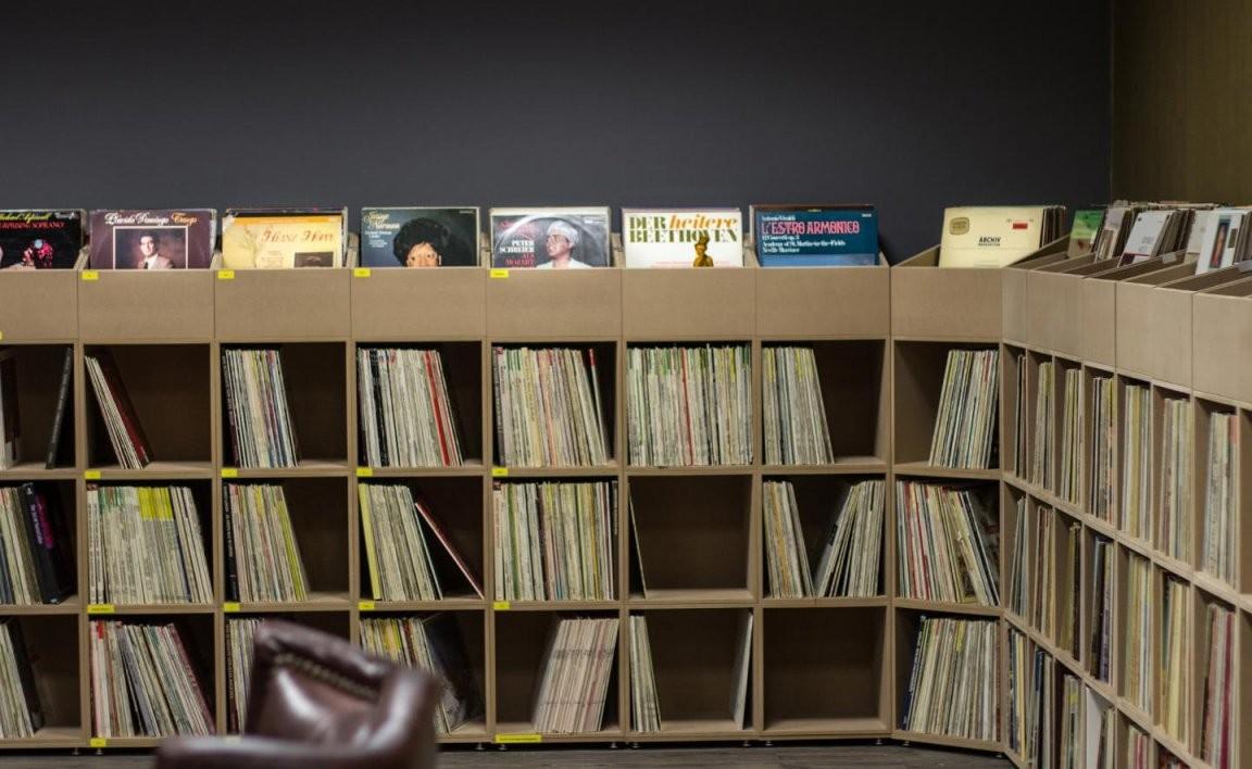 Schallplattenregale  Jetzt Modulares Regal Kaufen  Stocubo von Schallplatten Regal Selber Bauen Bild