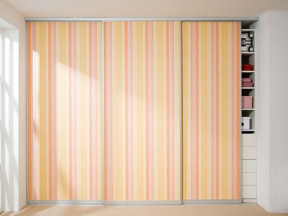 Schiebetüren Selber Bauen So Geht's von Schrank Tapezieren Kreative Ideen Photo