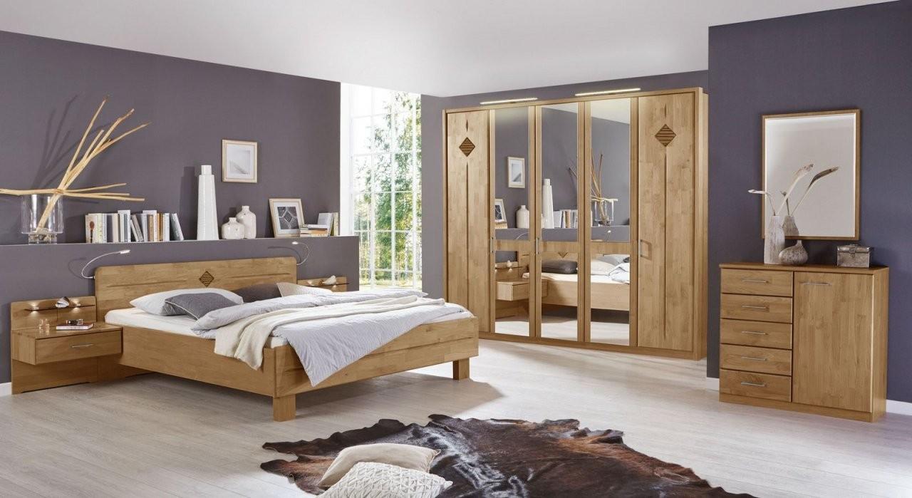 Schlafzimmer Aus Massivholz Günstig Kaufen  Betten von Bett Komplett Günstig Kaufen Bild