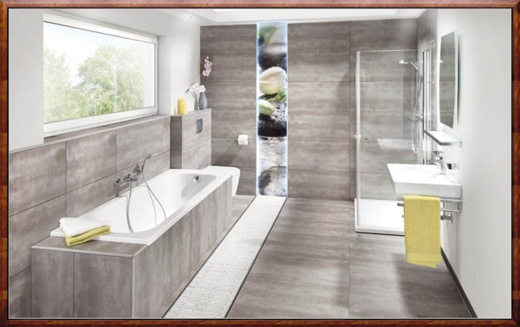 Schlafzimmer Ideen Grau Moderne Badezimmer Fliesen Beige Mit Perfekt von Moderne Badezimmer Fliesen Beige Bild