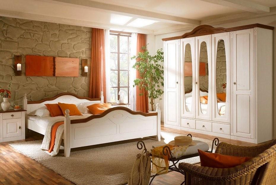 Schlafzimmer Landhausstil Online Kaufen  Xxmoebel von Schlafzimmer Im Landhausstil Weiß Bild