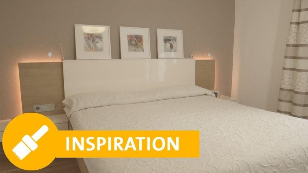 Schlafzimmer Streichen Tipps Zur Richtigen Farbe  Wandgestaltung von Schlafzimmer Renovieren Vorher Nachher Photo