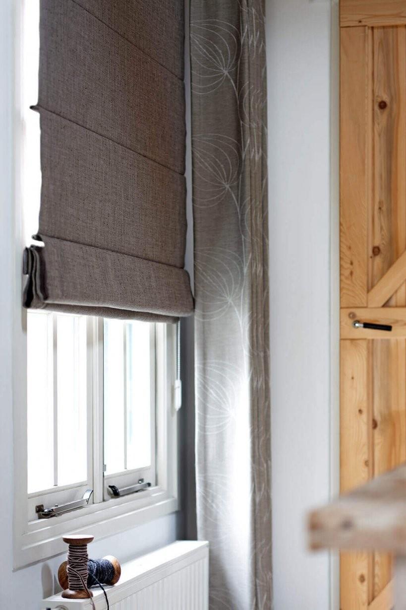 Schlafzimmer Verdunkeln  Für Sichtschutz Und Ruhe von Plissee Und Gardinen Kombinieren Photo