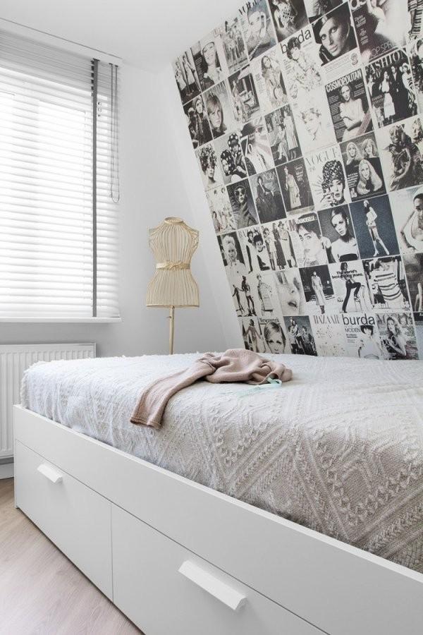 Schlafzimmergestaltung Mit Dachschräge Zum Wohlfühlen von Fototapete Für Schräge Wände Bild