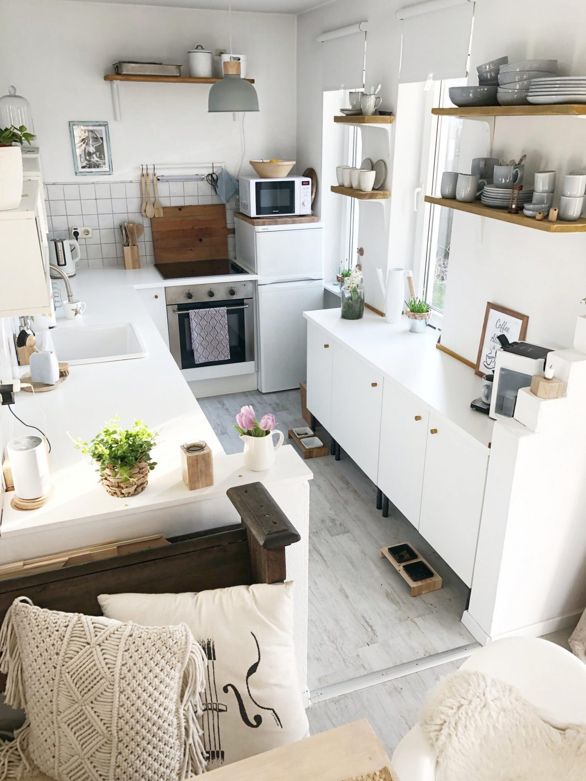 Schmale Küche • Bilder  Ideen • Couch von Kleine Schmale Küche Einrichten Bild