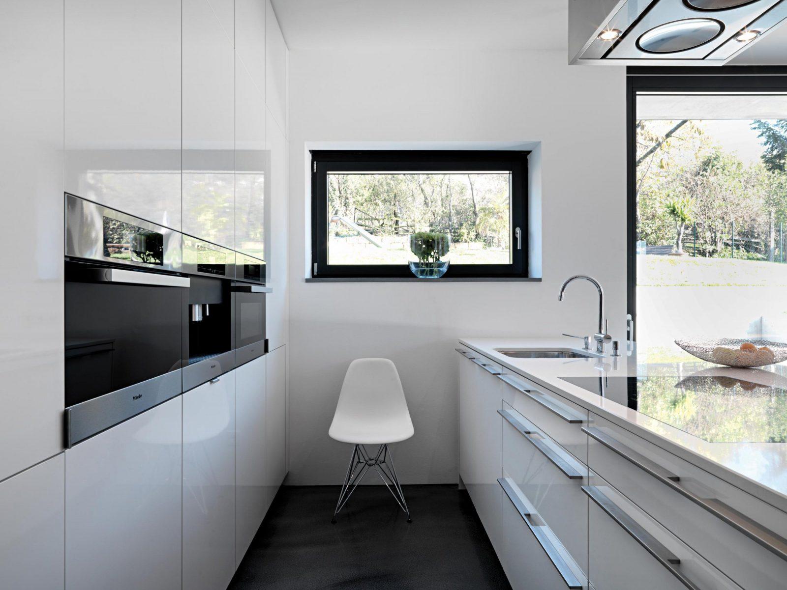 Schmale Küche • Bilder  Ideen • Couch von Kleine Schmale Küche Einrichten Photo