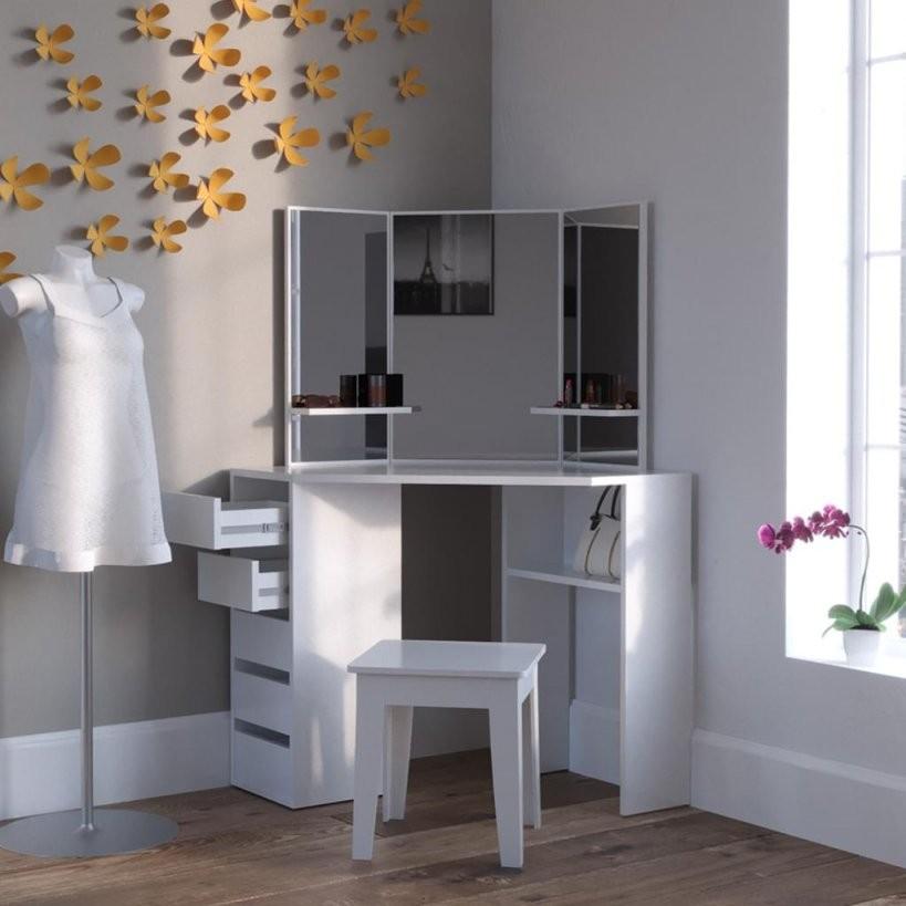 Schminktische Günstig Online Kaufen  Real von Schminkspiegel Mit Beleuchtung Ikea Bild
