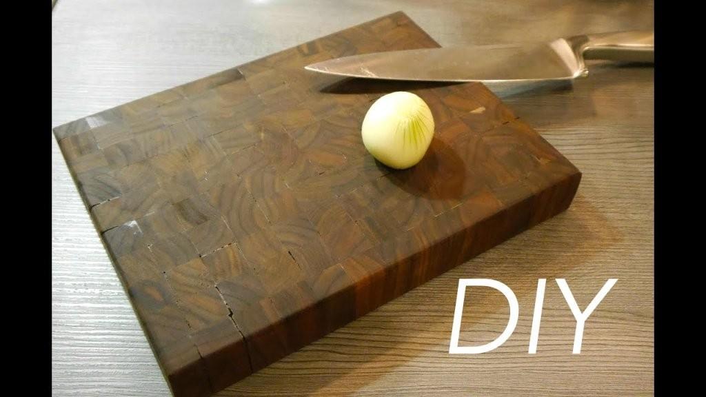 Schneidbrett Nussbaum Selber Machen Anleitung  Youtube von Vesperbrett Holz Selber Machen Photo