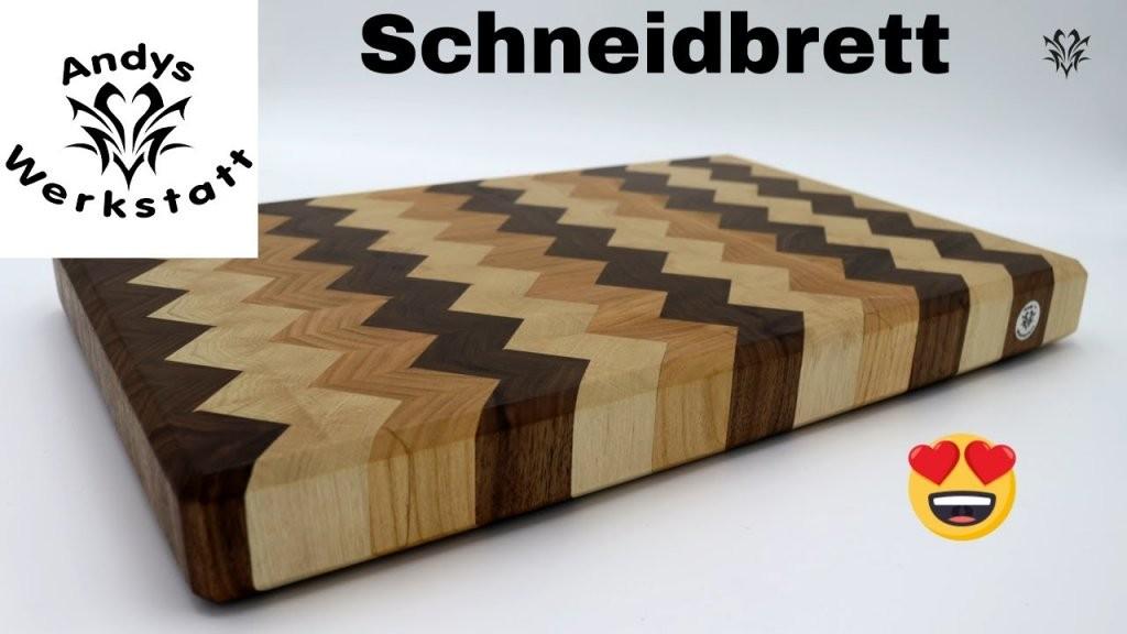 Schneidbrett Selber Machen  Nussbaum Kirsche Weißbuche 😍  Youtube von Vesperbrett Holz Selber Machen Photo