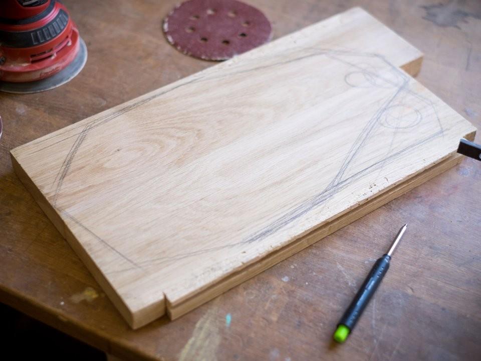 Schneidebrett Aus Holz Selber Bauen So Geht's von Vesperbrett Holz Selber Machen Bild