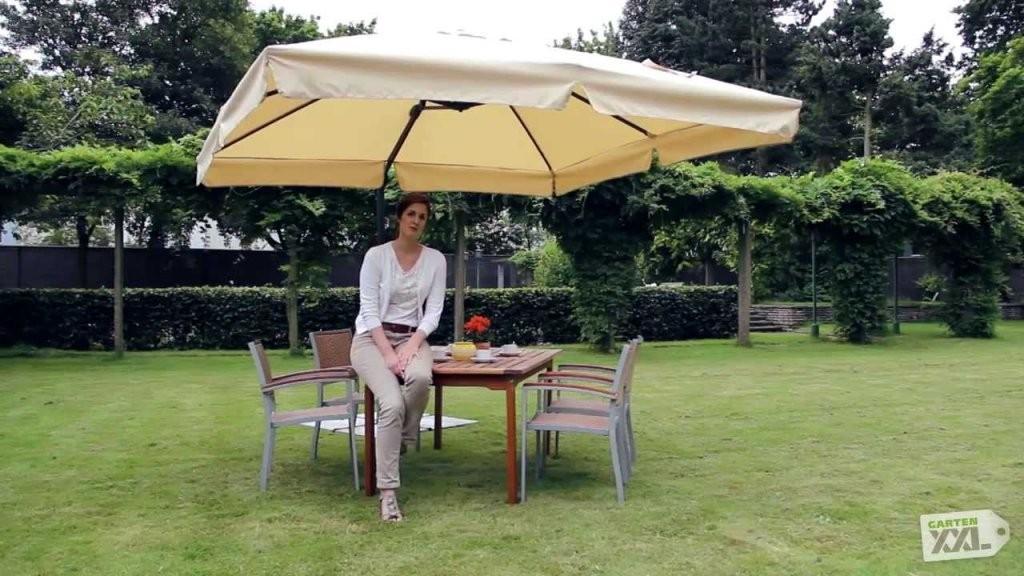 Schneider Ampelschirm Rhodos  Sonnenschrim  Gartenxxl  Youtube von Schneider Ampelschirm Rhodos Rondo Photo
