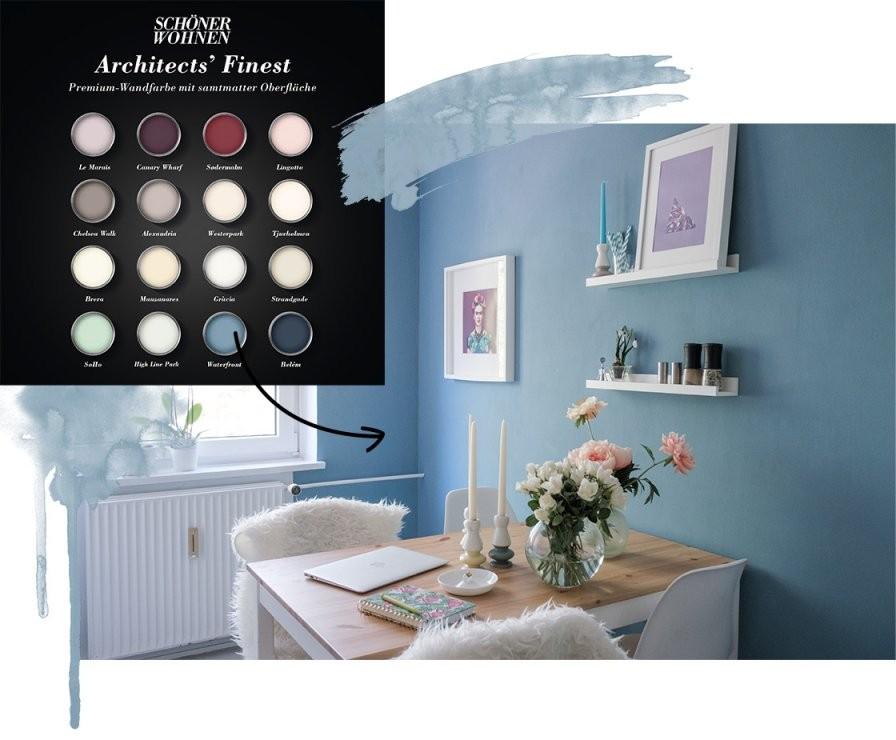 Schöner Wohnen Wandfarbe  Wohnklamotte von Schöner Wohnen Schlafzimmer Farbe Photo