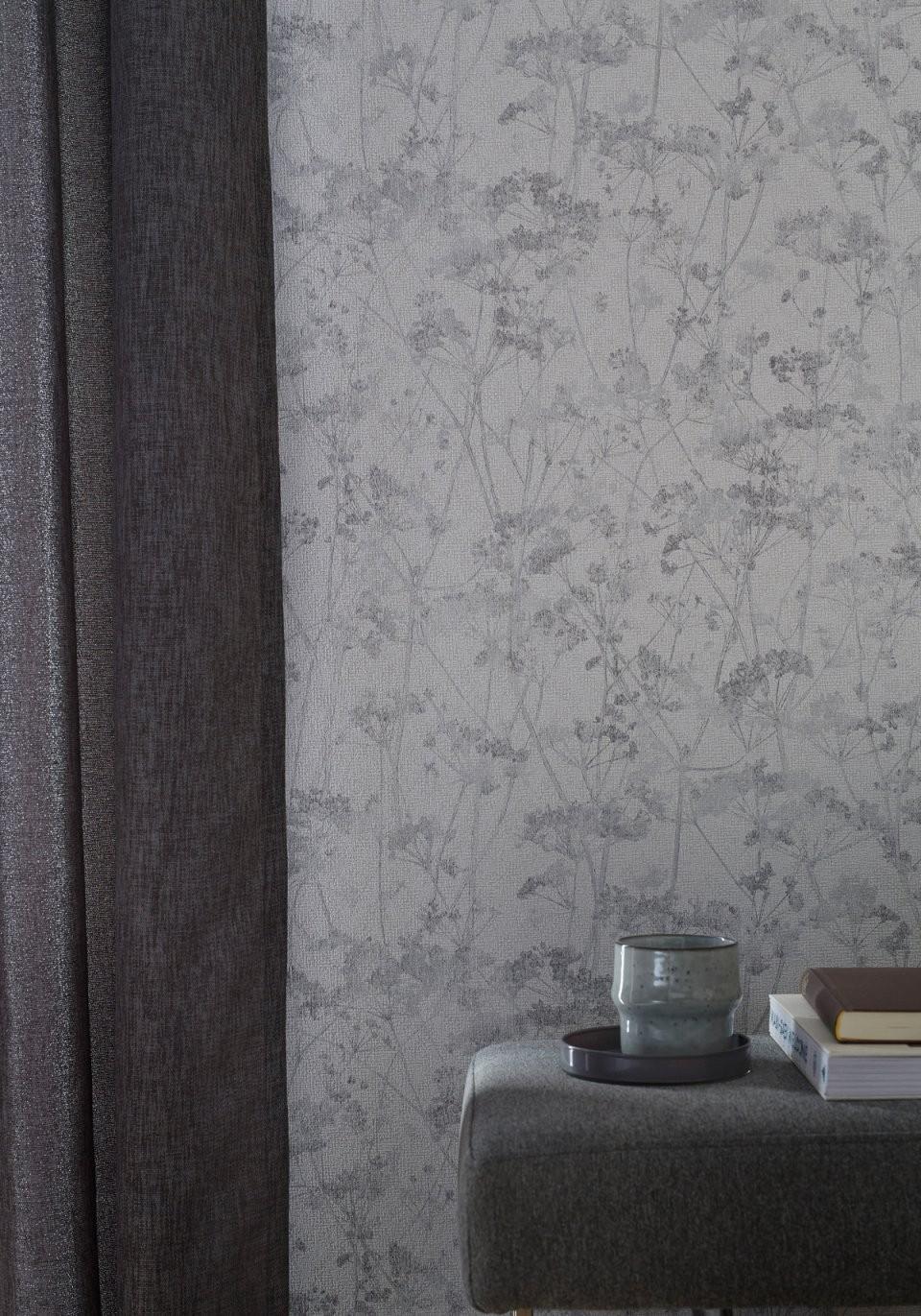 Schöner Wohnentapeten  Schöner Wohnen Kollektion von Tapete Grün Grau Gestreift Bild