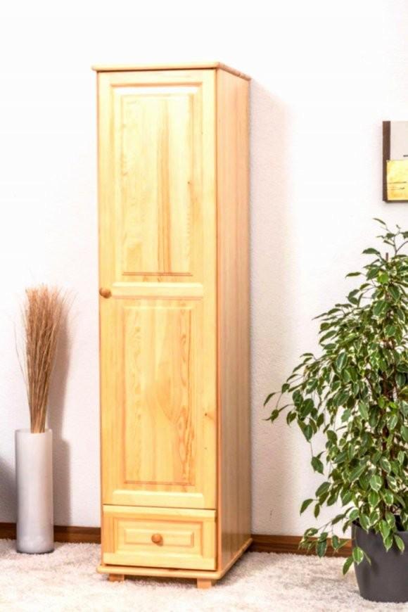 Schrank 70 Hoch Mit Kleiderschrank Kiefer Natur Schn Kleiderschrank von Kleiderschrank 60 Cm Breit Bild