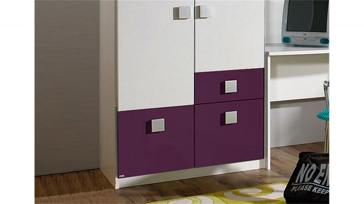 Schrank Lila Weiß Hochbett Schrank Schreibtisch Spiegel Kinderzimmer von Kleiderschrank Weiß Lila Mit Spiegel Bild