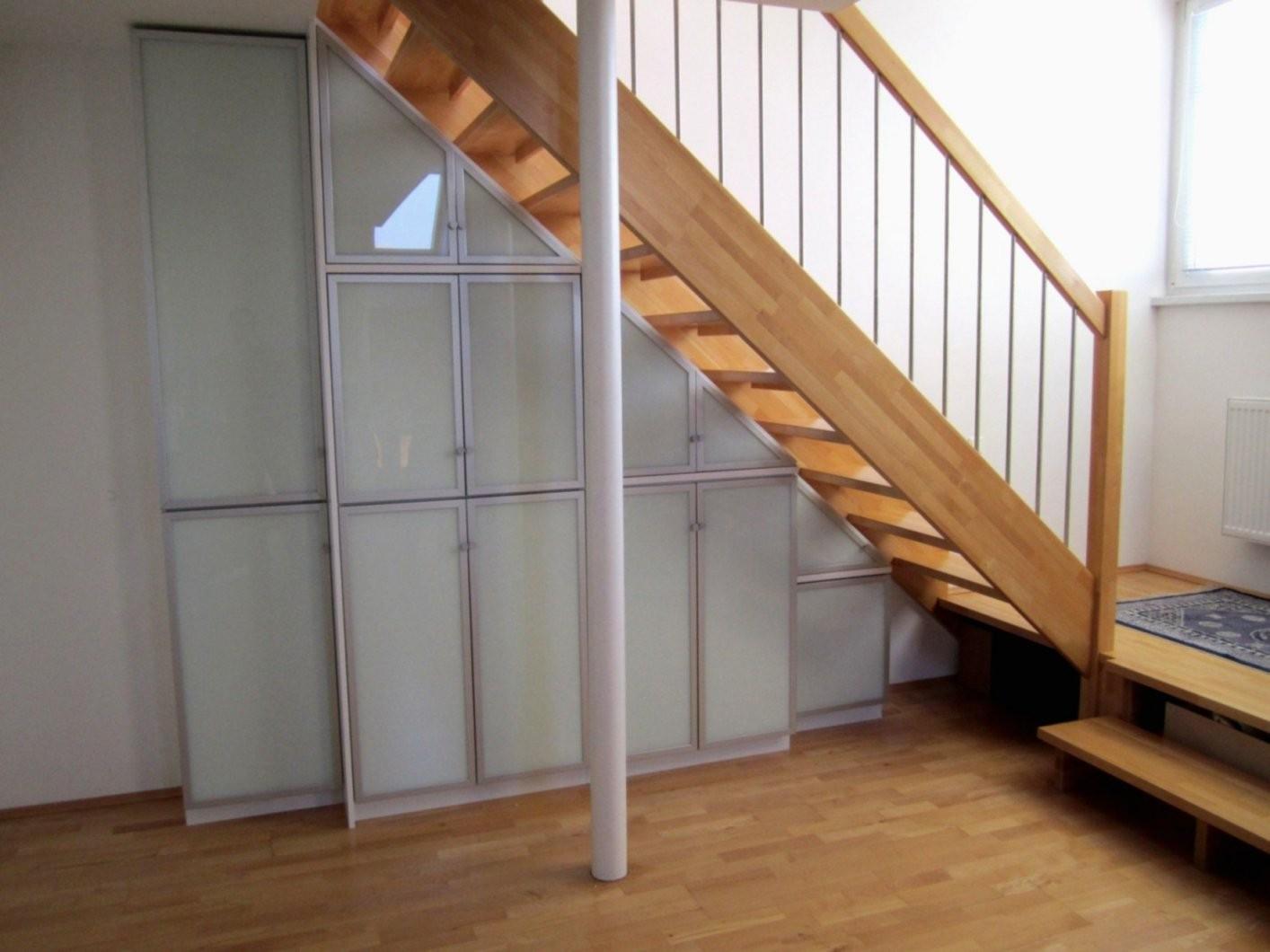 Schrank Unter Offener Treppe Selber Bauen Stauraum Unter Fener von Schrank Unter Der Treppe Bild