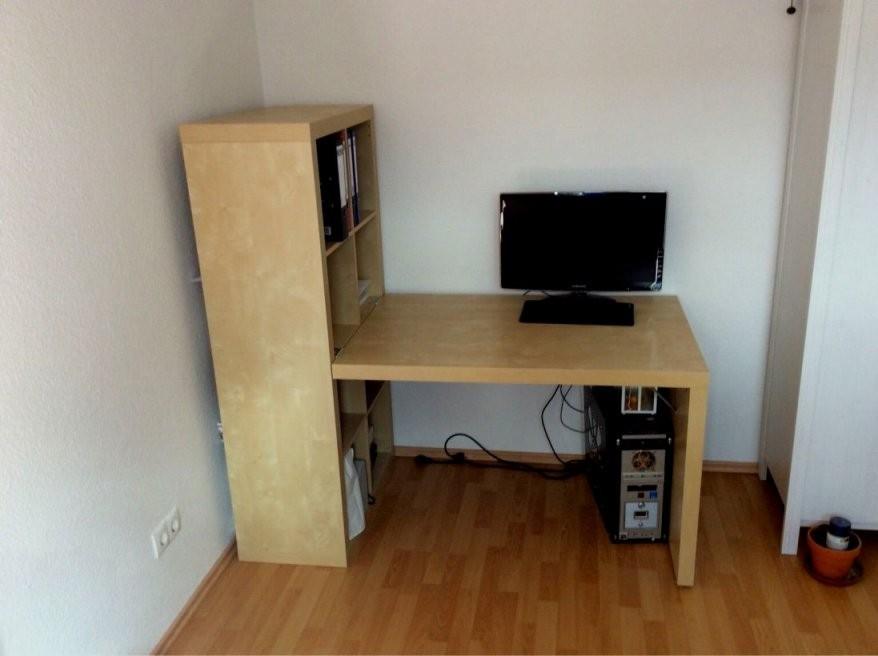 Schreibtisch Ikea Kallax Gebraucht Kombination In 23623 Ahrensbök Um von Ikea Regal Kallax Gebraucht Bild