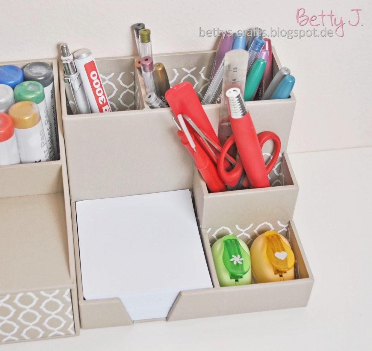 Schreibtisch Organizer Selber Machen – Schreibtisch Organizer Selber von Schreibtisch Organizer Selber Machen Photo