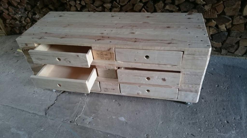 Schubfach Für Palettenmöbel Möbel Aus Europaletten Selber Bauen von Tv Möbel Aus Europaletten Bild