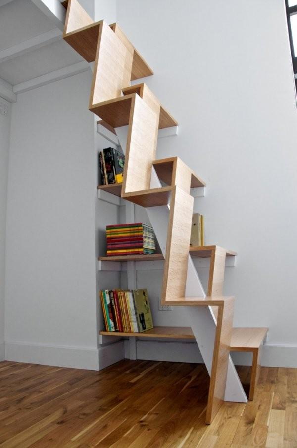 Schwebende Treppen  50 Ideen Für Zeitgenössisches Design von Treppe An Der Wand Photo