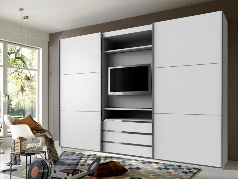 Schwebetürenschrank Mit Tv Fach Wddj Cool Mit Tv Kleiderschrank von Schlafzimmerschrank Mit Tv Fach Bild