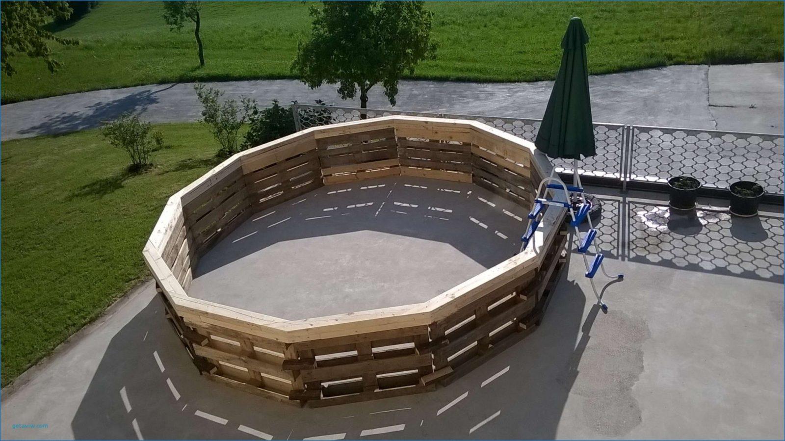 Schwimmteich Selber Bauen Design Von Pool Eigenbau  Komplette Ideen von Pool Aus Paletten Selber Bauen Bild