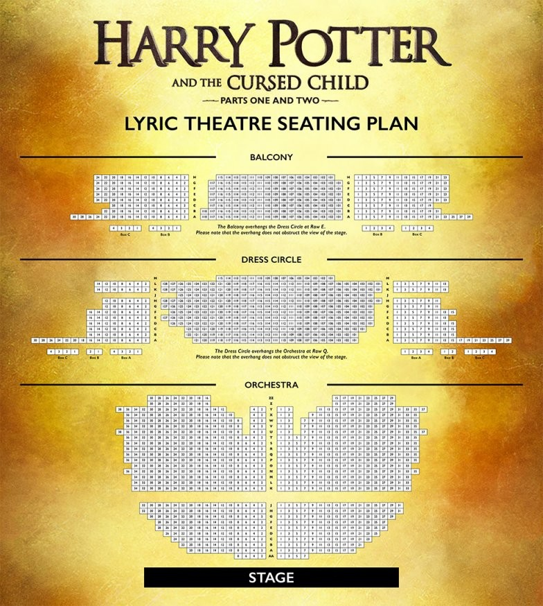 Seating Plan  Lyric Theatre von Lyric Opera Seating Chart Photo