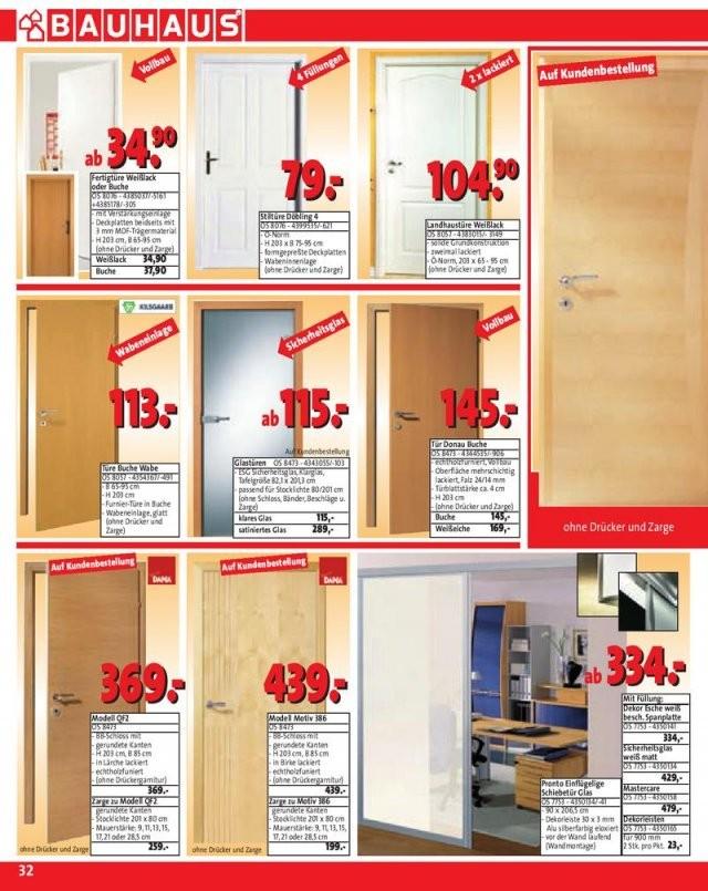 Seite 33 Von Bauhaus Werbebeilage  Gültig Vom 28082007  29092007 von Glastür Mit Zarge Bauhaus Bild