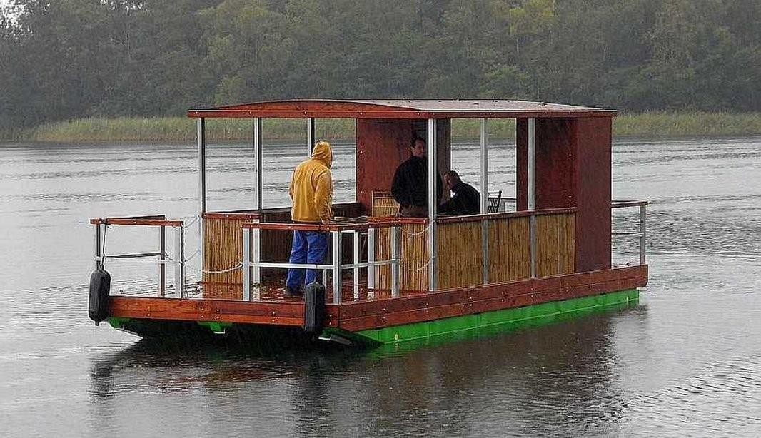 Selbstbau  Komponenten  Tom Sawyer Boats  Flösse Und Hausboote Bauen von Ponton Hausboot Selber Bauen Photo