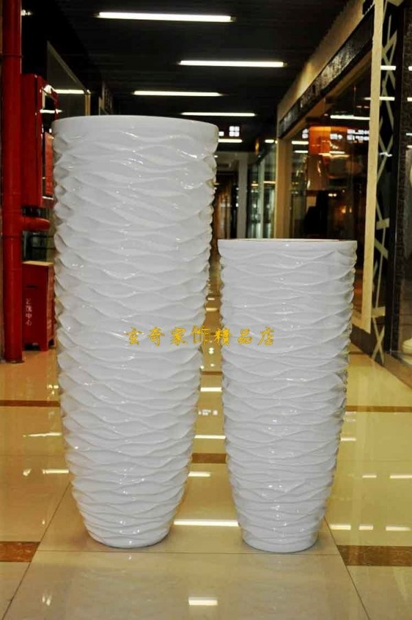 $Seoproductname von Large White Floor Vase Bild