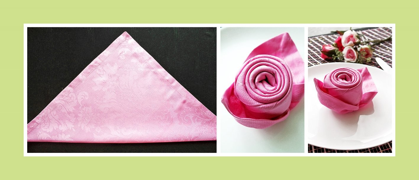 Servietten Falten Anleitung Rose von Servietten Falten Blume Anleitung Photo