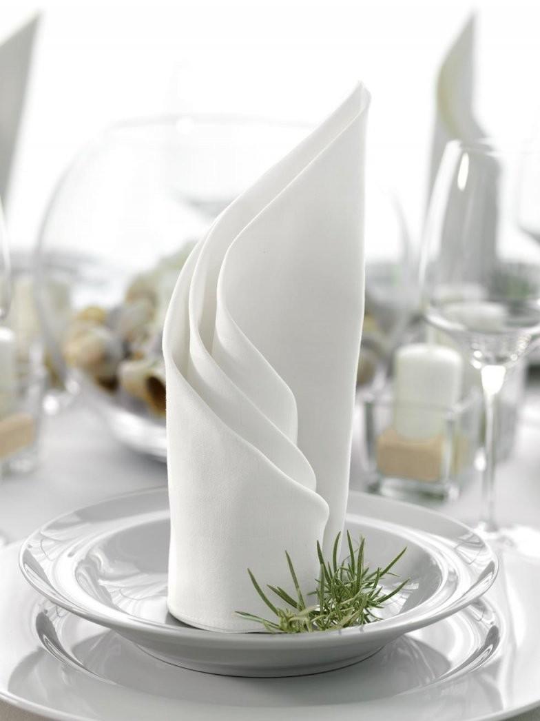 Servietten Falten Die Verschiedensten Faltanleitungen von Servietten Falten Hochzeit Anleitung Photo