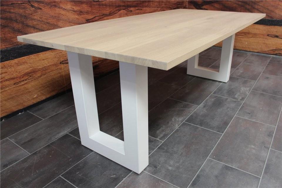 Seuren Tisch von Esstisch Eiche Weiß Gekalkt Photo