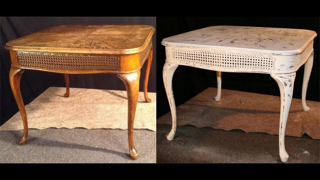 Shabby Chic Teil 1  Alte Möbel Neu Gestalten  Aus Alt Mach Mach von Alten Tisch Neu Gestalten Bild