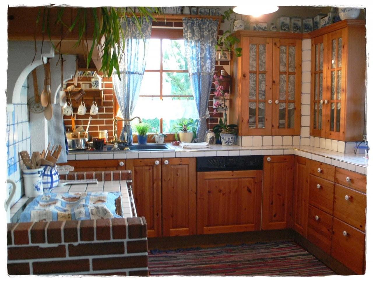 Shabby Landhaus Vorhernachherkücheesszimmer von Küchenmöbel Streichen Vorher Nachher Photo