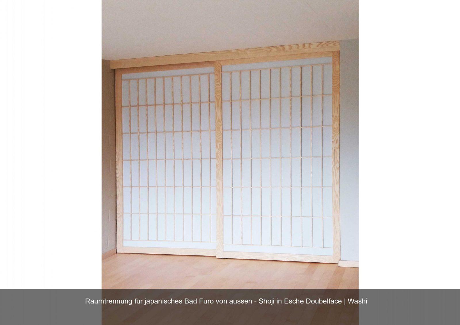 Shoji Schiebetüren  Holzwurm  Manufaktur Fr Naturholzmbel Und von Japanische Schiebetüren Selber Bauen Photo