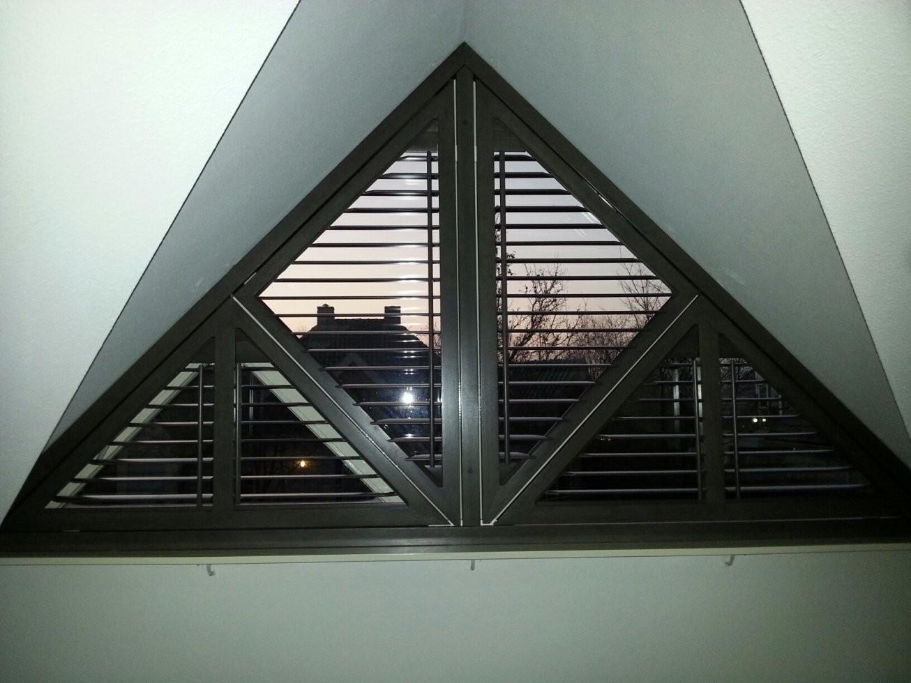 Shutters Für Dreieckige Fenster  Jasno von Jalousien Für Dreieckige Fenster Bild
