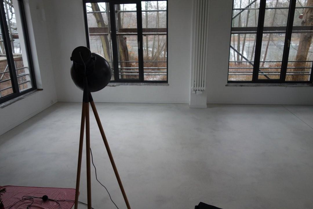 Sichtestrich  Estricon Gmbh von Geschliffener Estrich Als Bodenbelag Bild