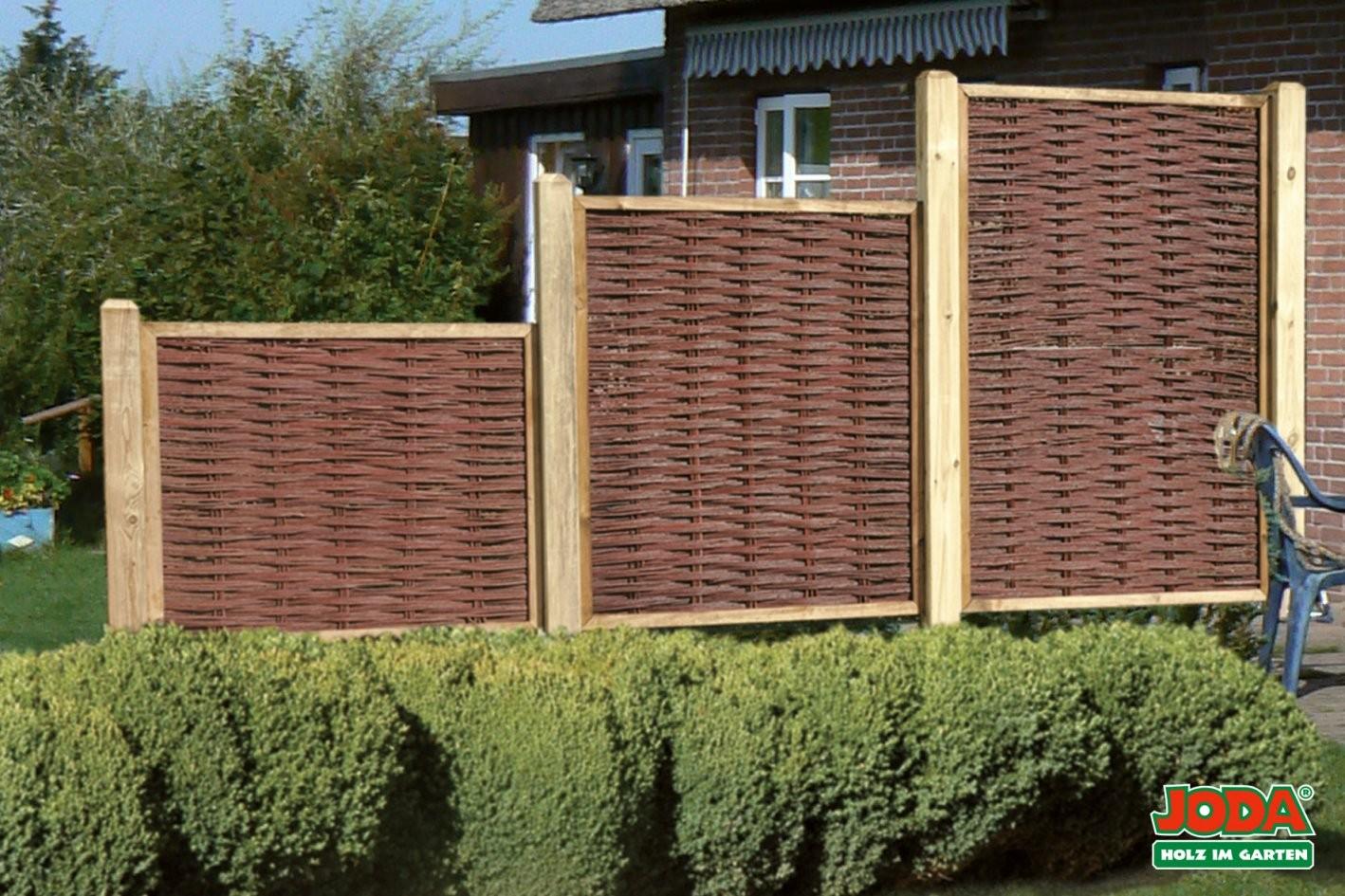 Sichtschutz Aus Paletten Selber Bauen Avaformalwear Beste Für Weide von Weide Sichtschutz Selber Machen Photo