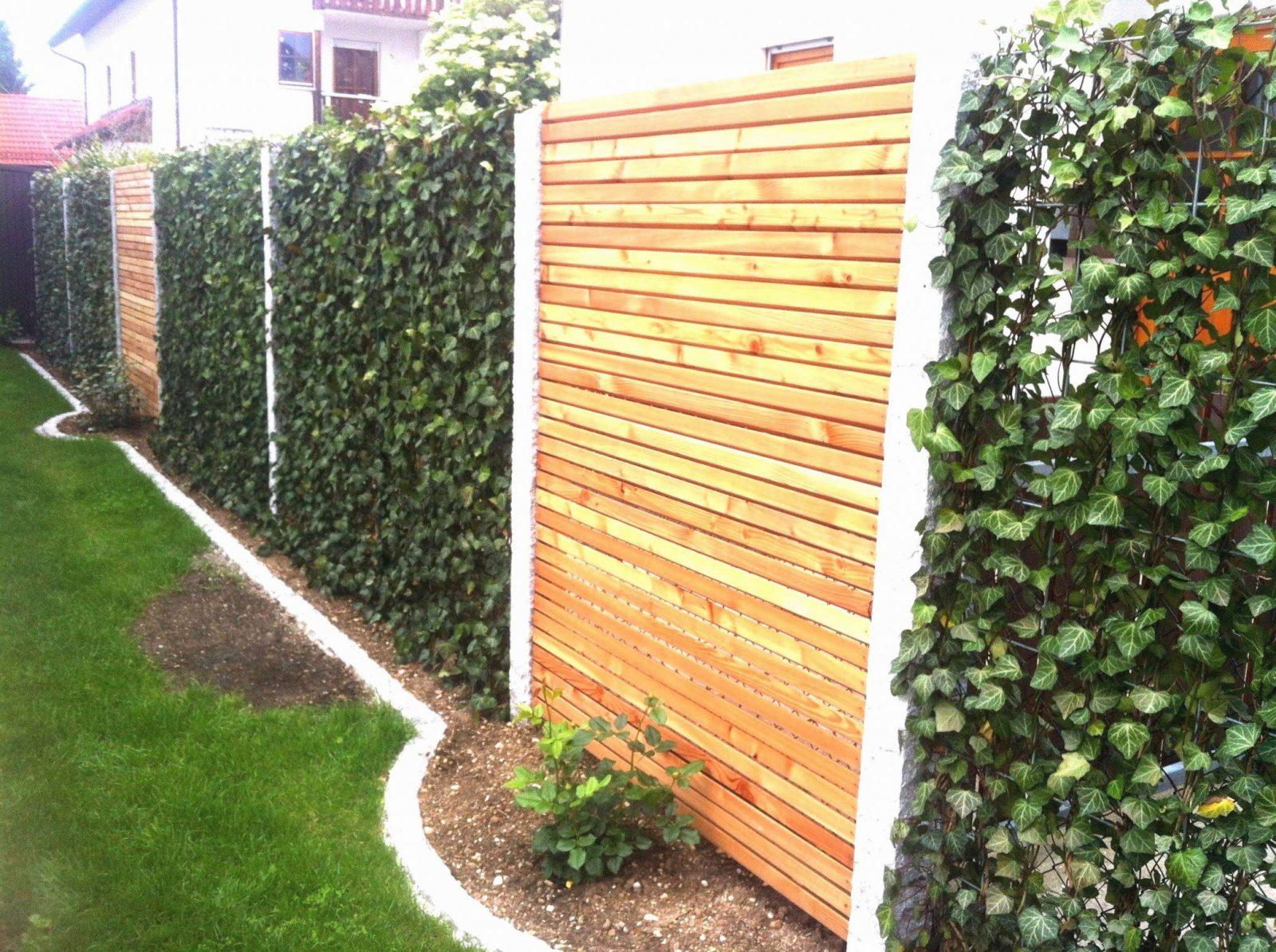 Sichtschutz Für Den Garten Inspirierend Moderner Sichtschutz Für Den von Moderner Sichtschutz Für Den Garten Bild