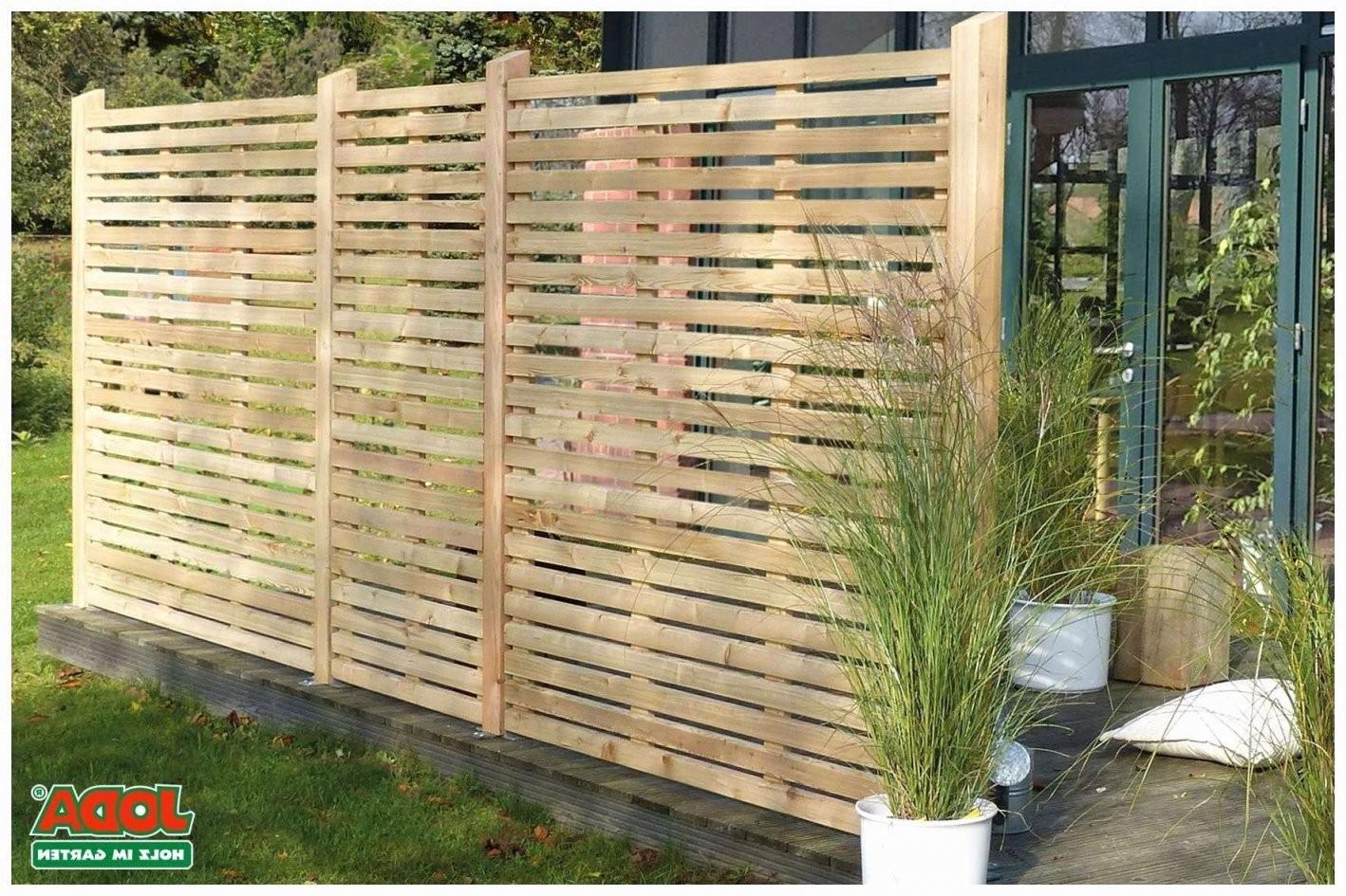 Sichtschutz Garten Mit Pflanzen Verschiedene Ideen Zur Design Von von Sichtschutz Garten Ideen Günstig Bild